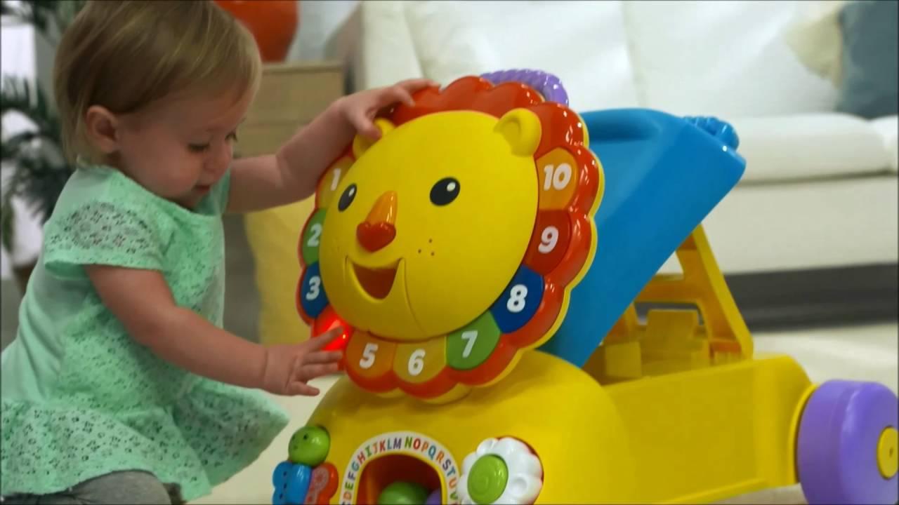 Smyths Toys Fisher Price Sit Stride Ride Lion Youtube