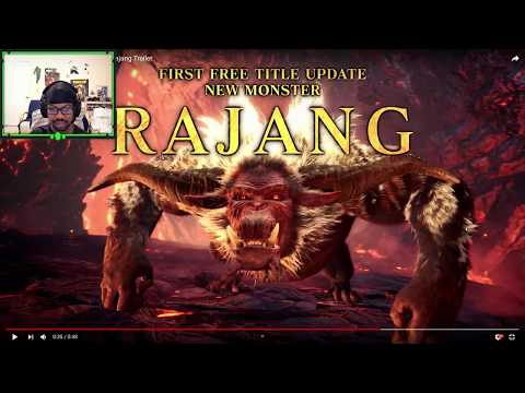 SPECIAL K REACTS: Rajang Reveal - Monster Hunter World Iceborne
