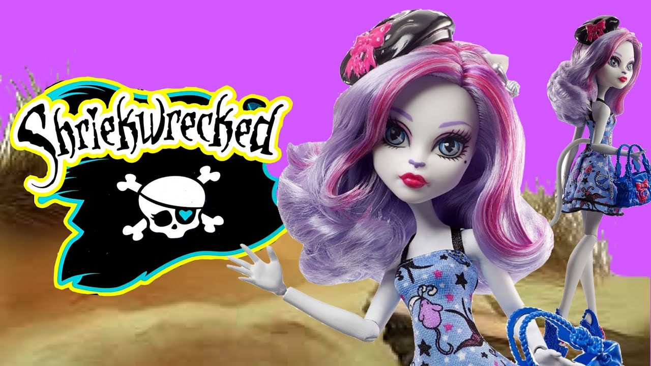 Catrine demew popular catrine demew doll buy cheap catrine demew doll - Catrine Demew Shriekwrecked Monster High Unboxing Review