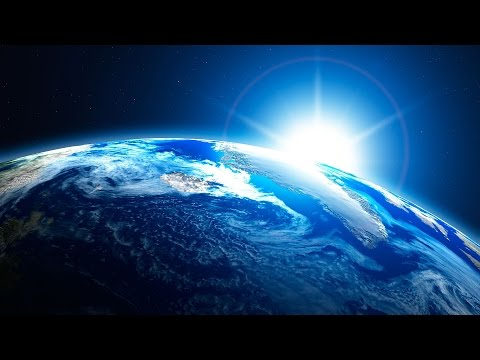 Space Night - The blue Planet [HD]