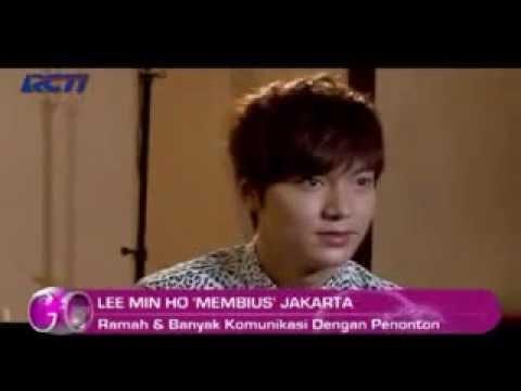 Membius Jakarta - Lee Min Ho's Interview