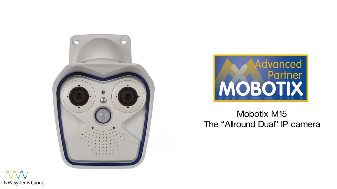 Mobotix M15 Allround Dual lens IP camera