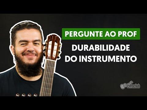 Qual o tempo de vida do violão influencia no som dele?   Pergunte ao Professor