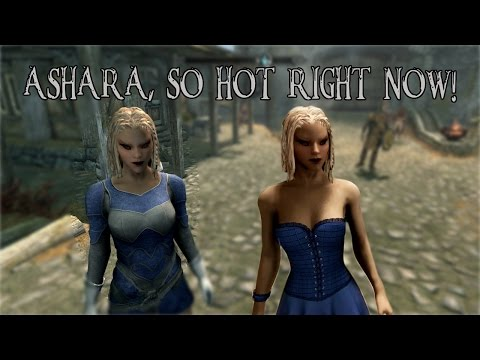 SKYRIM CONSOLE MODS on the Xbox One! Ashara Elves and