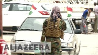 Battle for Mosul: Peshmerga troops clear villages