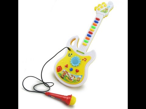 Sa Re Ga Ma Pa Musical Guitar Toy - UnBox Demo - Ranked Top 10 Toys in Amazon in Guitar & Strings