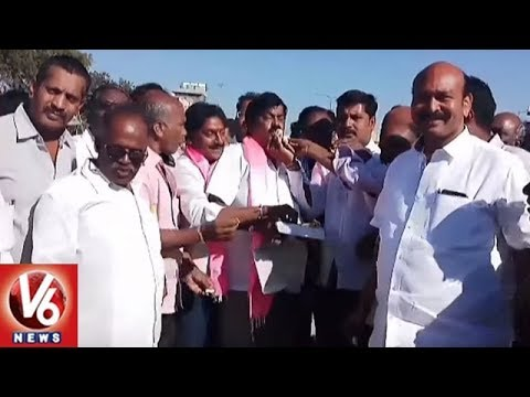 MP Gutha Sukender Reddy Fans Celebrations | Gutha As President Of Farmers' Coordination Committee