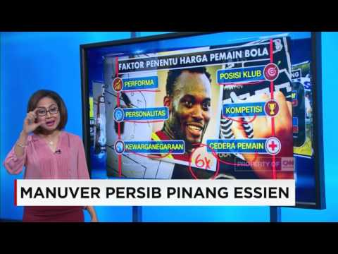 Manuver Persib Pinang Michael Essien