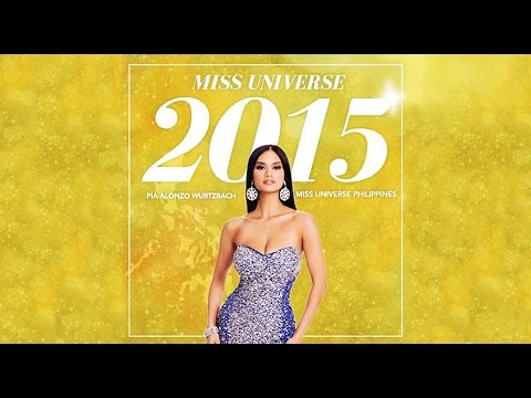 Miss Universe 2015 Miss Philippines Pia Alonzo Wurtzbach