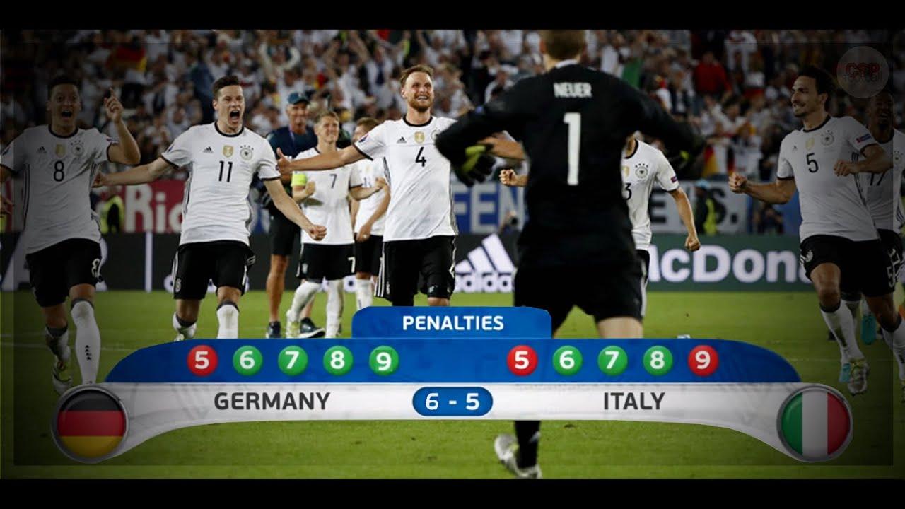 Download Euro 2016: Niemcy – Włochy 1:1 [K. 6:5] Rzuty Karne || Polski Komentarz