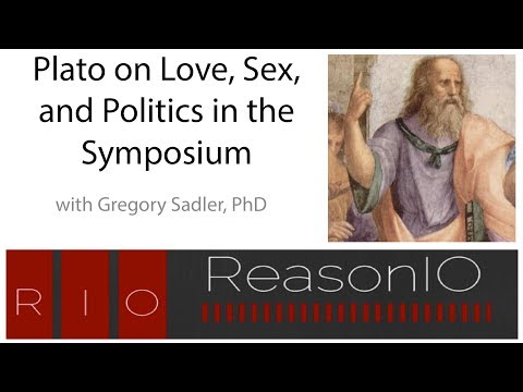 September 2017 Webinar - Plato on Love, Sex, and Politics in the Symposium