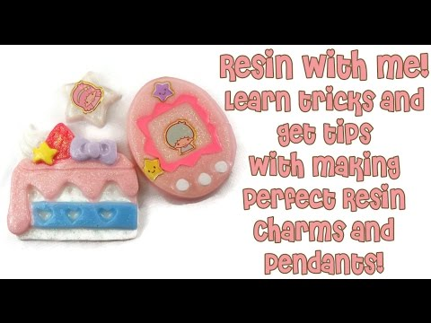 Resin With Me! Learn My Resin Jewelry Making Tips & Tricks.