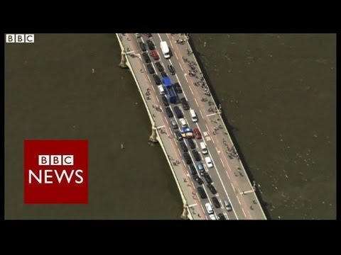 Black cab Uber protest causes London gridlock - BBC News
