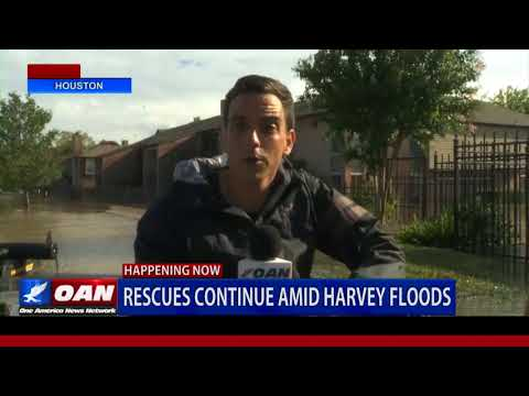 One America Rides with Rescue Workers in Houston
