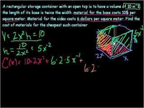 Optimization  Example 4