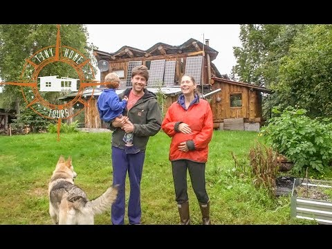 Self Built & Off The Grid In Alaska ~ Full Homestead Facility Tour