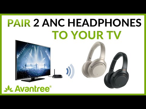 How To Have 2 Headphones Connected To The SAME TV Together?