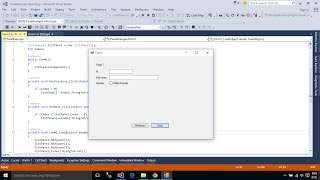 C# Tutorial : Multiple pages on the Form using Panel control | FoxLearn