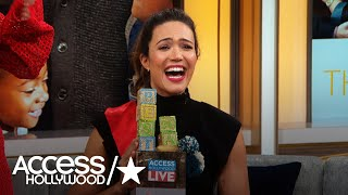 Mandy Moore Opens Up About Her Love Story With Taylor Goldsmith | Access Hollywood