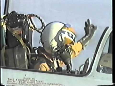 中華民國空軍F-104G編號4414試飛滑行短片 (1988)