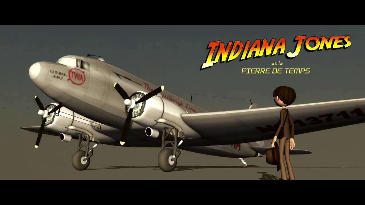 Indiana Jones and the Time Stone - Aircraft Douglas DC-3 ...