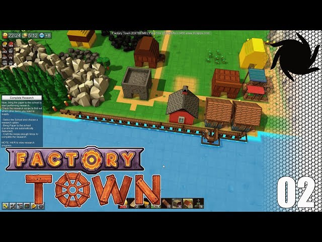 Factory Town - S02E02 - Stone and Research