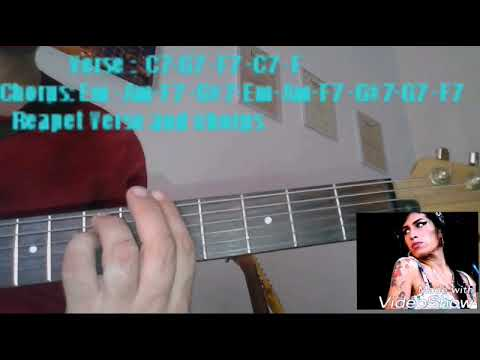 Rehab -Amy Winehouse -guitar chords- - YouTube