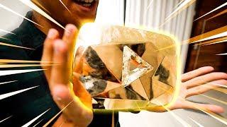 O MAIOR PRESENTE DO YOUTUBE !! (Placa de Diamante) ‹ AUTHENTIC ›