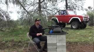 ar500 target rifle test