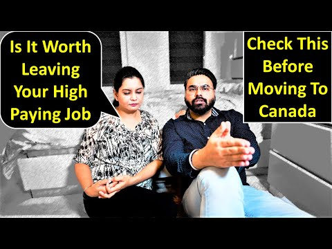 Is It Worth Leaving Your High Paying Job For Canada 🍁 | Canada Couple