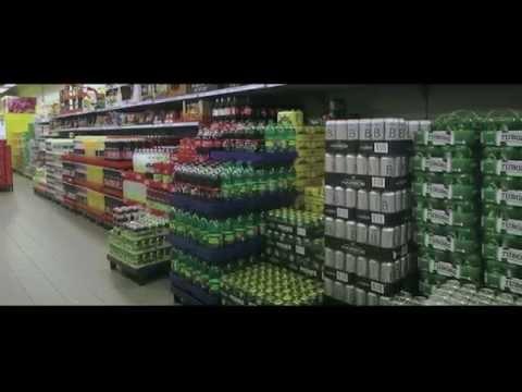 Inside a Netto store in Denmark