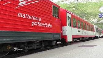 Die Matterhorn Gotthardbahn 2019  Oberalppass