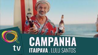 Lulu Santos em comercial de verão de Itaipava
