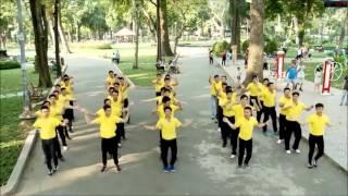 flash mob thai  nam a bank hd 2016