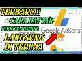 - Terbaru !! Cara Daftar Google Adsense 2020 Langsung Di Terima Youtube