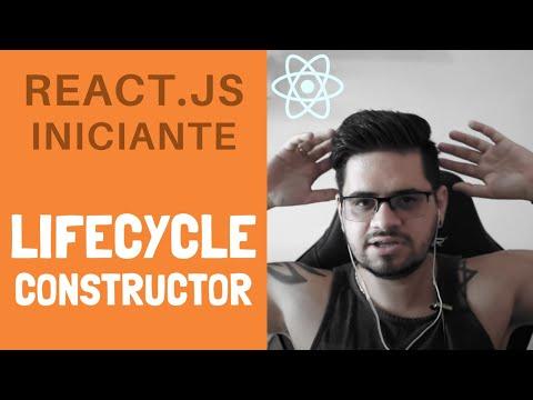 #03 - Tutorial de React.JS iniciante, Component Lifecycle, Constructor thumbnail
