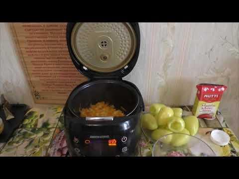 Как готовить фаршированные перцы в мультиварке
