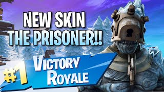 "*NEU* Schneefall ""The Prisoner"" Skin!! 7 Elims!! - Fortnite: Battle Royale Gameplay"