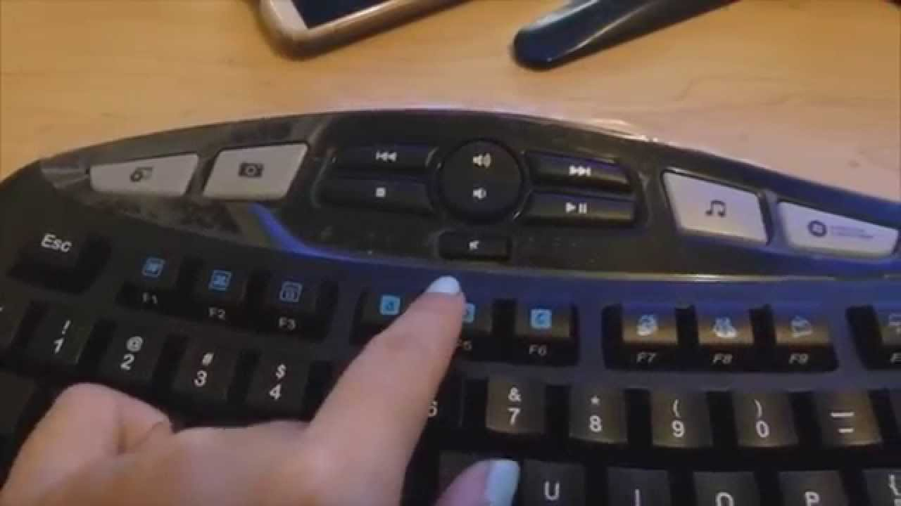 1ed9fab1961 Initial Impression: Logitech Wireless Wave Combo MK550 Keyboard ...
