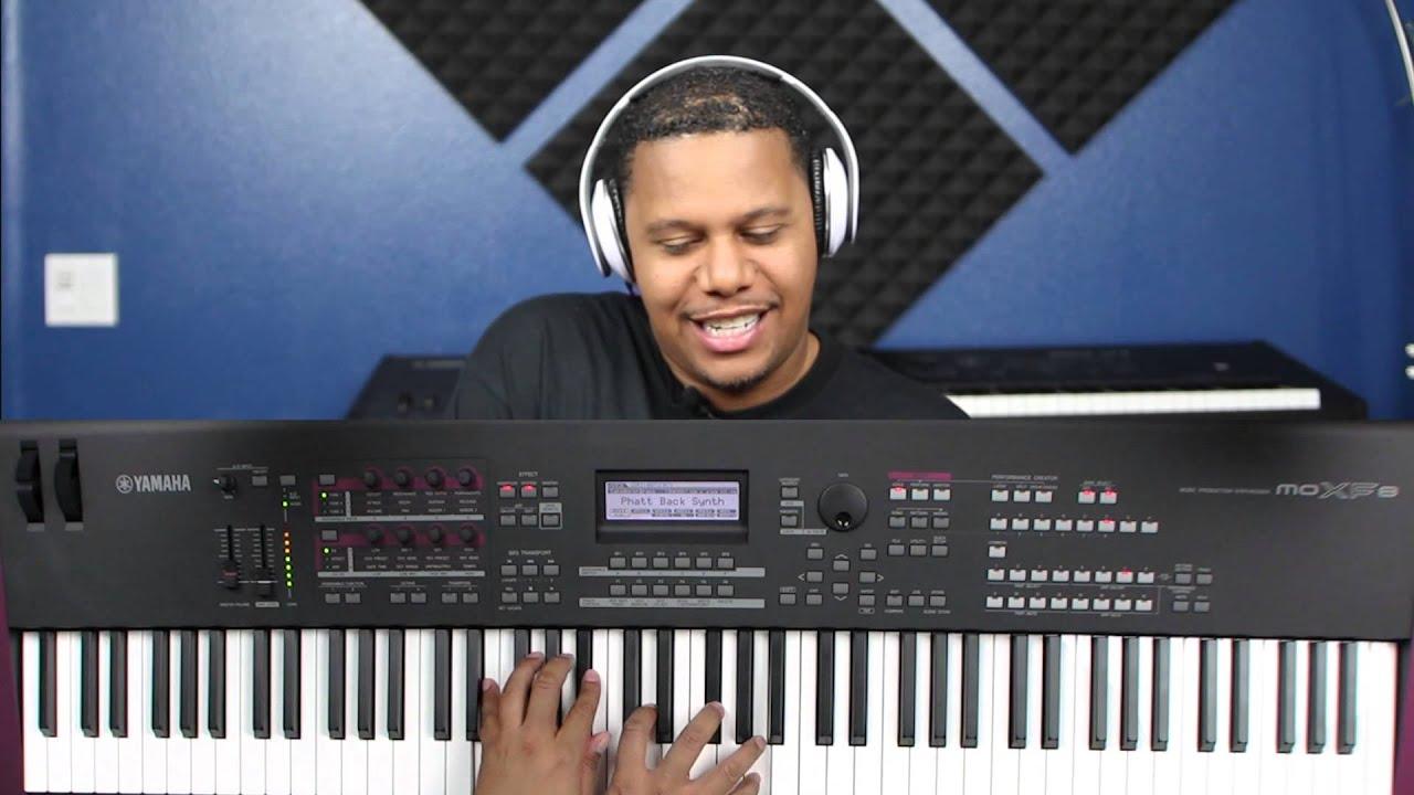 Yamaha MOXF Demo and Instructional Video