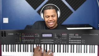 Yamaha MOXF Demo and Instructional Video