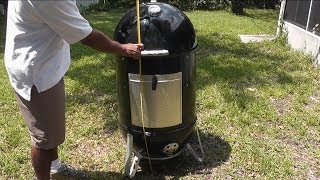 how to grill weber smokey mountain review