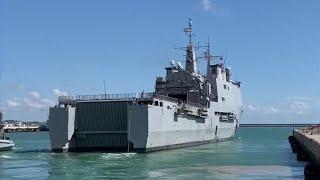 El buque 'Galicia' ya está en Melilla para hacer de barco hospital