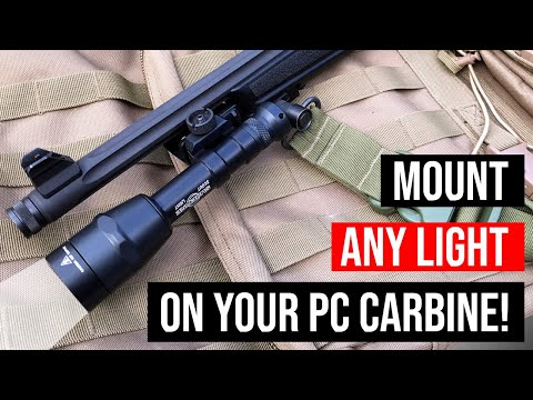 Catalyst Arms Ruger PC Carbine Hardpoint™ Rail Mount Installation featuring  Magpul M-LOK slots