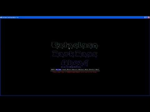 "[FR] Ascii games Cataclysm Dark Days Ahead (c2da) 01 ""Découvrons!"""