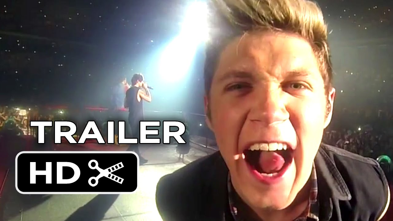 One Direction: Where We Are - The Concert Film Official Trailer #1 (2014) HD