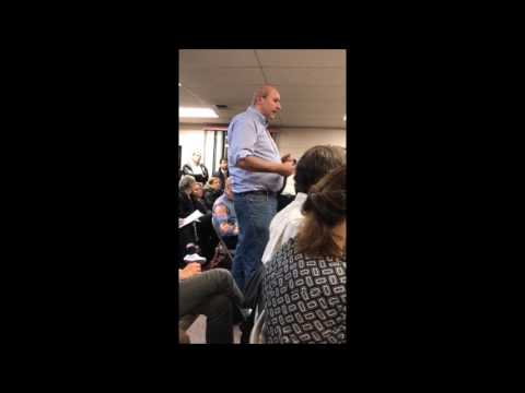 Resident In Chestnut Ridge Asks Publicly How To Slow Jews Down
