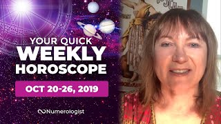 Your Weekly Horoscope For October 20-26, 2019 | All 12 Zodiac Signs