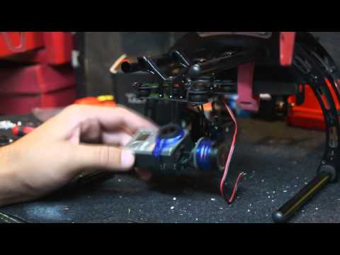 Detailed Tarot Gimbal install with Pitch control by That HPI Guy
