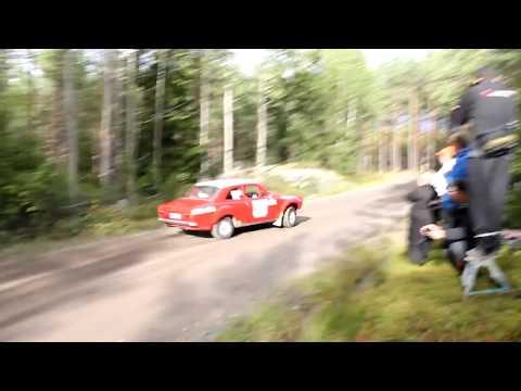 Sjöbergs Gräv och Transport Rallispecial 2017, Raasepori (Crash)